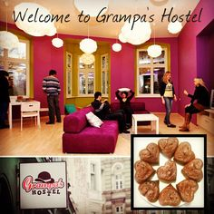 Grampas Hostel - Have a cupcake and enjoy your stay in Wroclaw!