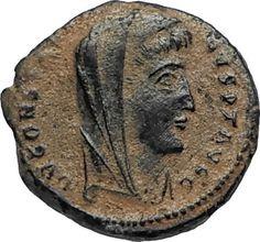 Divus Saint CONSTANTINE I the GREAT 347AD Authentic Ancient Roman Coin i67191 Ancient Roman Coins, Ancient Romans, St Constantine, Roman History, Antique Coins, Ancient History, Saints, Pirate Treasure, Medieval Times