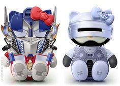 Optimus Prime & RoboCop