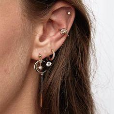 The Tevia earrings #ruegembon