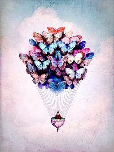 Believe in Happiness Lets Try Love - Skizzen - Animales Butterfly Watercolor, Butterfly Wallpaper, Butterfly Art, Butterfly Design, Love Wallpaper, Watercolor Art, Beautiful Butterflies, Anime Art Girl, Art Plastique