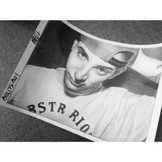 Pencil drawing with original signature of MadMan, an italian rapper @sickmadman on instagram