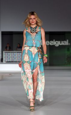 Desigual Spring 2014 #QFClothing Love the happy models!