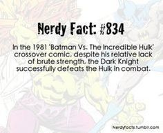 Which I guess it's true... I am Batman therefore I win. Follow for more awesome geek content all day everyday.