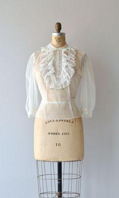 1950s blouse: