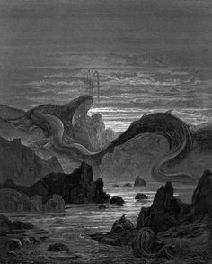 Gustave Doré, Illustration to Milton's Paradise Lost, 1866