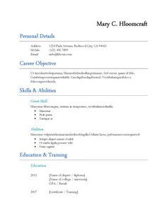 functional space resume formatfree - Traditional Resume Template Free