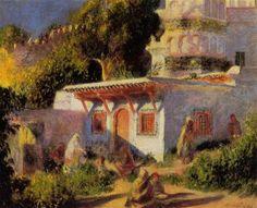 Mosque in Algiers - Pierre-Auguste Renoir