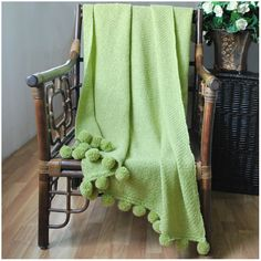 August Grove Paloma Pom Pom Fringe Throw & Reviews | Wayfair