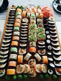 ✧уσυ αяє му ѕυиѕнιиє му σиℓу ѕυиѕнιиє уσυ м. I Love Food, Good Food, Yummy Food, Sushi Comida, Sushi Food, Cooking Recipes, Healthy Recipes, Diet Recipes, Easy Cooking