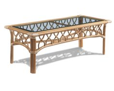Rattan Table Tropical Breeze Coffee