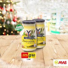 Este mes llevate un 50% en la 2ª unidad de mayonesa Grupo Ybarra. Aprovecha!