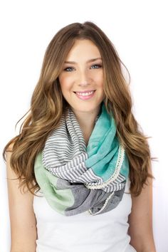MINT INFINITY SCARF || LOVE!!!