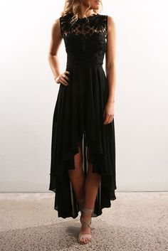 Do It Again Maxi Dress Black