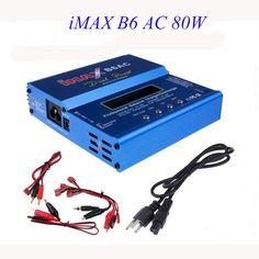 High Quality iMAX B6 AC 80W B6AC Lipo NiMH 3S4S5S RC Battery Balance Charger  EU US AU UK plug power supply wire