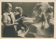 BDM-Werk, Glaube und Schönheit, In der Werkstatt eines Bildhauers