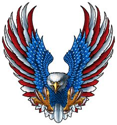 Dojo, Eagle Pictures, Skull Pictures, American Flag Eagle, Eagle Art, Flag Art, Garage Art, Bald Eagle, Eagle Head