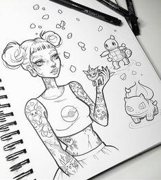 Some Pokemon Go fanart before I dive back into a commission #wip - obsessed with Vaporeon right now - Gotta catch more Eevees!!! ✨ #graphicartery #pokemongo #pokemongofanart #vaporeon #bulbasaur #eevee #pikachu #squirtle #jigglypuff #ink #artshare #artwork #myart #sketch #draw #artsy #arte #art #instaart #artnerd2016 #artist #illustration #artistsoninstagram #artcollective #spotlightonartists #instartspics #tattoos