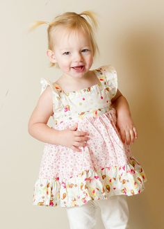The May Dress or Top PDF Pattern Size 18m5T by Brynnberlee on Etsy, $7.00
