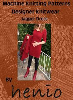 Jagger Dress Machine Knitting Pattern