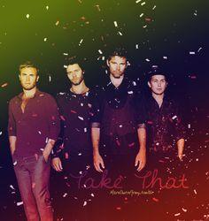 Gary Barlow, Howard Donald, Jason Orange and Mark Owen ♥ Take That