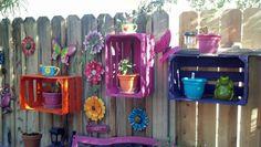 Fun backyard decor!