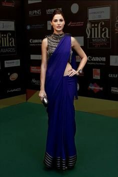 Year's most stunning saris, lehengas and anarkalis, modeled by your favourite celebs Saris, India Fashion, Asian Fashion, Look Fashion, Indian Attire, Indian Ethnic Wear, Indian Dresses, Indian Outfits, Indian Clothes