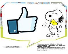 Plaquinhas Snoopy 34