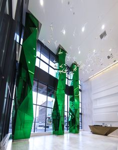 fly condos toronto mirrored column features#columns #faceted #architecture #art