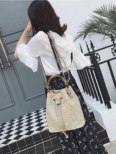 Fashion Knitting Handbag&Single Shoulder Bag – chicbohodress