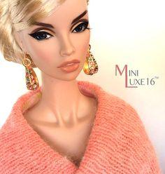 "16"" Doll Jewelry - Swarovski Crystal Earrings - Tonner Tyler, Sybarite, FR16"