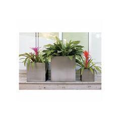 galvanized steel planters