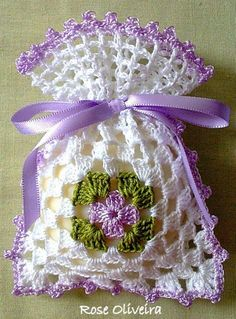 sache de croche para sabonete - Google Search