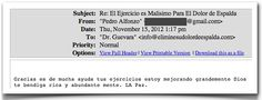 Testimonio 53 - Elimine Su Dolor de Espalda    http://www.ElimineSuDolorDeEspalda.com/blog