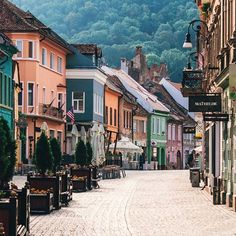 Town into Brasov Romania. Photo by Architecture Portofolio, Romania People, The Places Youll Go, Places To Visit, Travel Around The World, Around The Worlds, Brasov Romania, Earth City, Transylvania Romania