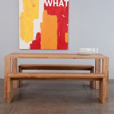 LAX Series Edge Dining Table. Minimal. Modern. Whatever you want.