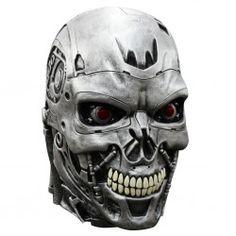 #Mascara #Terminator Endoskull Deluxe. En mercadisfraces tu tienda de #disfraces online disponemos de #mascaras para tus fiestas de #Halloween.