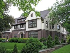 English Tudor style home in the Indian Village neighborhood of Detroit, MI Detroit Michigan, Metro Detroit, Detroit Neighborhoods, Exterior Color Combinations, Beautiful Homes, Beautiful Places, Detroit History, Tudor Style Homes, Indian Village