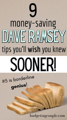 9 Essential Dave Ramsey Tips You Need to Try in 2020 Best Money Saving Tips, Money Tips, Saving Money, Dave Ramsey Plan, Save Money On Groceries, Groceries Budget, Money Budget, Total Money Makeover, Financial Tips