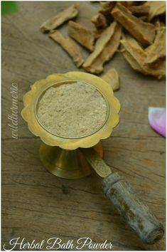 Ayurvedic Herbal Bath Powder For Fairness & Glowing Skin (Babies & Adults) At Home - Wildturmeric