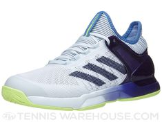 adidas adizero Ubersonic 2.0 Blue/Ink/Yel Men's Shoes