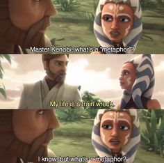 Poor Obi-Wan --> especially cause that's a simile