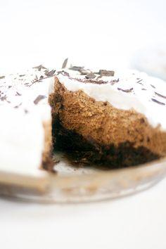 Brownie Tarta de chocolate de fondo