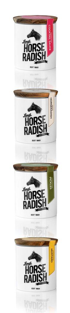 Long's Horse Radish.  Cute. I'd buy it #packaging : ) PD