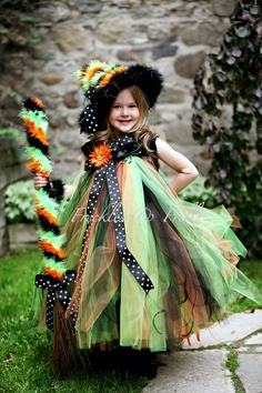 Items similar to SPELLBOUND SADIE WITCH - Includes Tutu Dress w/Matching Witch Hat & Wristles - Choose size 12-24 2t 3t 4t 5t on Etsy