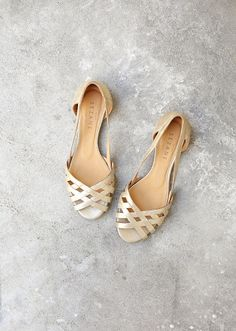 LOW MONROE SANDALS $138,96 / 125,00€ Gold FR 35 FR 36 FR 37 FR 38 FR 39 FR 40  FR 41 (SOLD OUT)