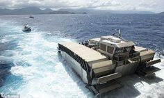 US Marines show off new toy; awesome new amphibious sea vehicle