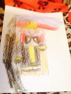 Brick as a fire fighter by Kaylee Alexis