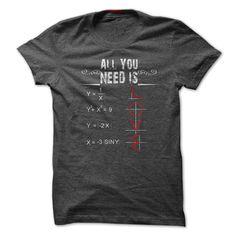 All You Need Is Love. Math Lovers T Shirt, Hoodie, Sweatshirt