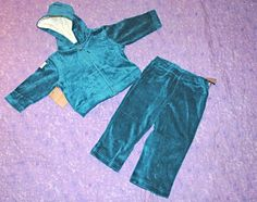 Sheababy Naturals Organic Cotton Child Pant Blue 6-12 mo see note $21 NWT